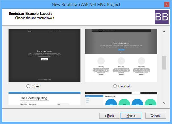 Asp net mvc bootstrap bundle for Asp net mvc 4 bootstrap layout template